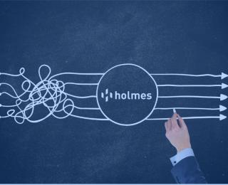 Como o Holmes fomenta uma gestão de processos integrada e capaz de atender a diferentes departamentos