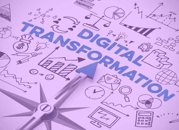 Transformação digital através de processos digitais